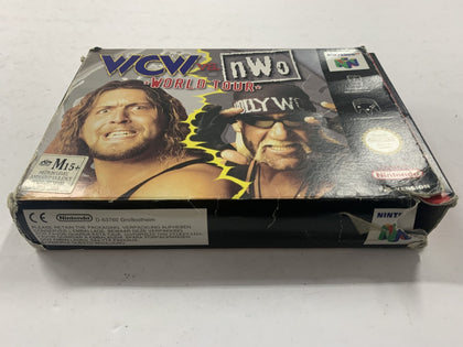 WCW VS NWO World Tour Complete In Box
