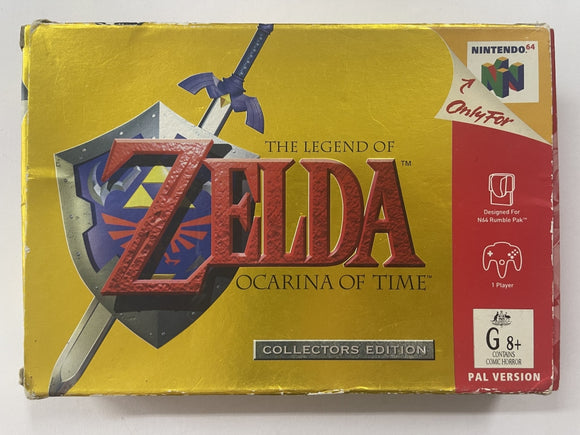 The Legend Of Zelda Ocarina Of Time Complete In Box