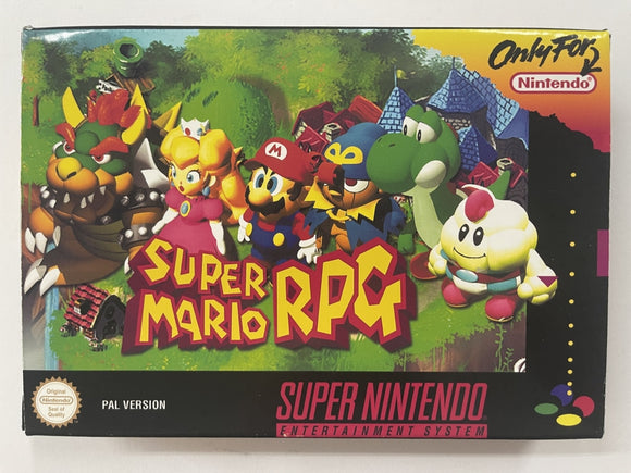 Super Mario RPG Reproduction Complete In Box