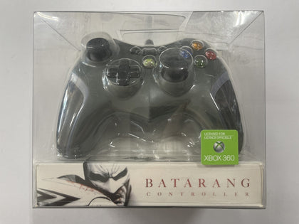 Genuine Microsoft Powe A Official Batman Batarang XBOX 360 Wired Controller Brand New & Sealed