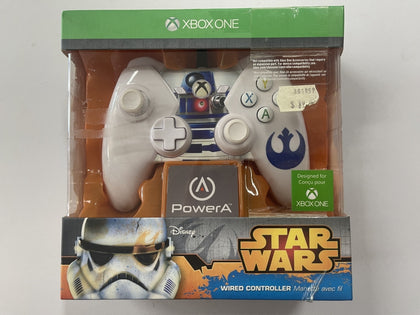 Genuine Microsoft Power A Official Star Wars R2 D2 XBOX One Wired Controller Brand New & Sealed
