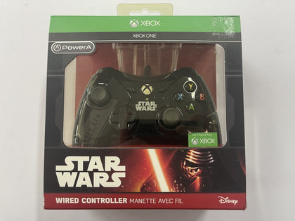 Genuine Microsoft Power A Official Star Wars Kylo Ren XBOX One Wired Controller Brand New & Sealed