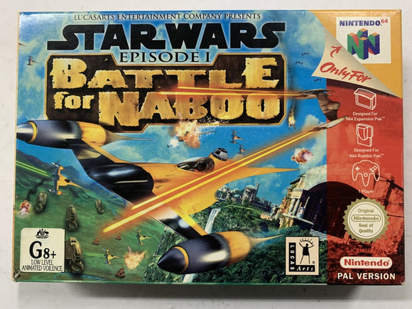 Star Wars Episode 1 Battle For Naboo Complete In Box