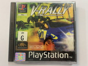V Rally Complete In Original Case
