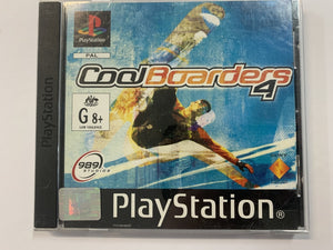 Cool Boarders 4 Complete In Original Case