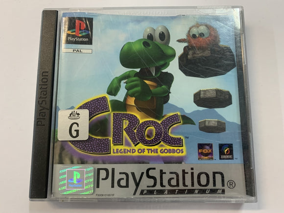 Croc The Legend Of The Gobbos Complete In Original Case