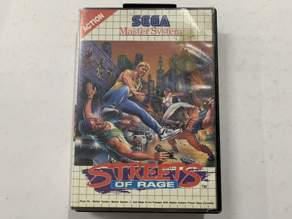 Streets Of Rage Complete In Original Case