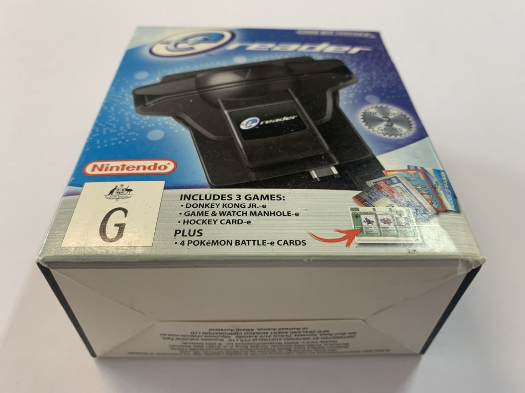 Gameboy Advance Pocket E Reader Complete In Box with Various E Redaer Cards