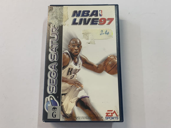 NBA Live 97 Complete In Original Case