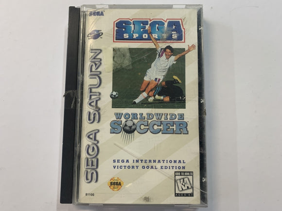 Sega Sports Worldwide Soccer Complete In Original Case