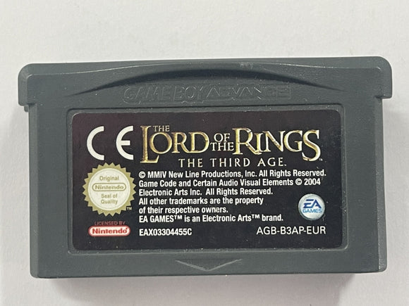 The Lord Of The Rings The Third Age Cartridge