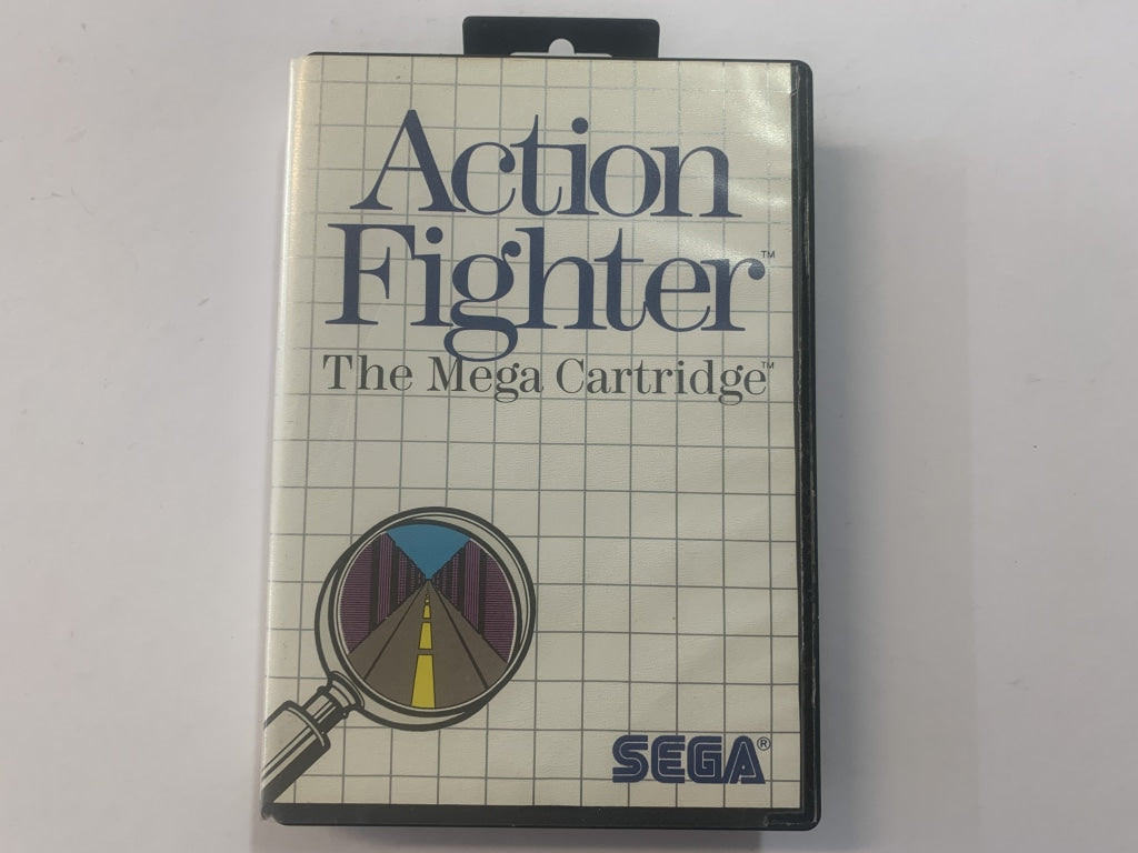 Action Fighter Complete In Original Case