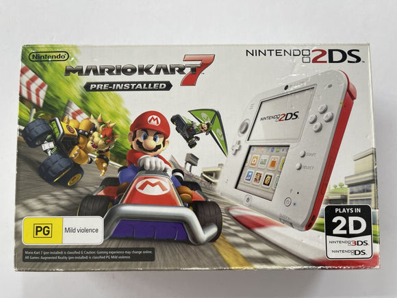 Limited Edition Mario Kart 7 2DS Console Complete In Box