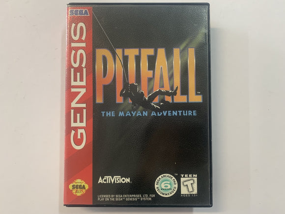 Pitfall The Mayan Adventure Complete In Original Case