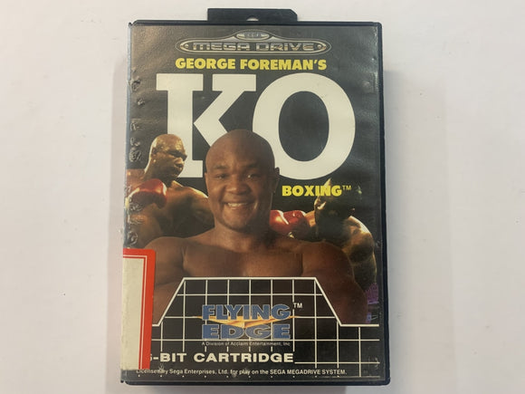 George Foreman's KO Boxing In Original Case