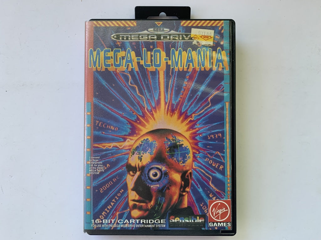 Mega-Lo-Mania In Original Case