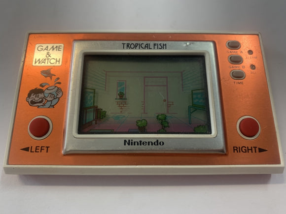 Tropical Fish Widescreen Game & Watch Handheld Console