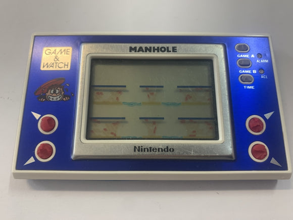 Manhole Widescreen Game & Watch Handheld Console