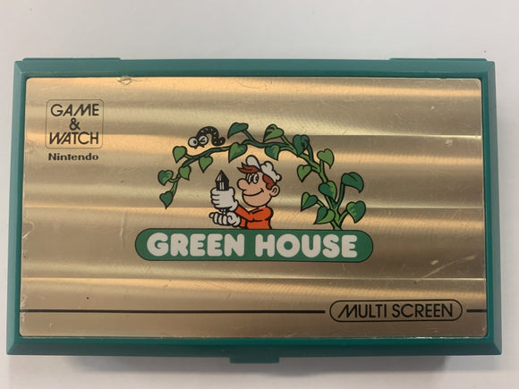 Green House Multi Screen Game & Watch
