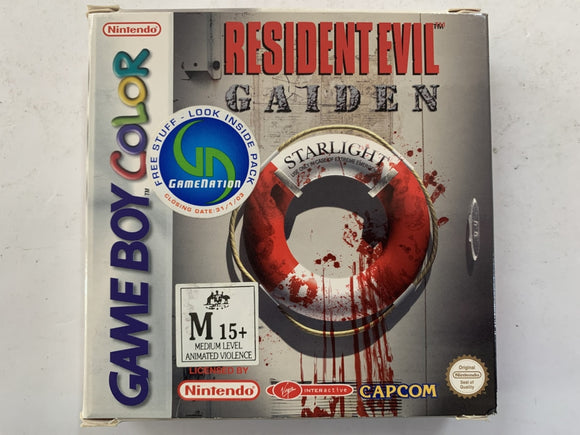 Resident Evil Gaiden Complete In Box