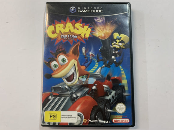 Crash Tag Team Racing In Original Case