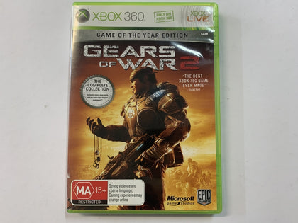 Gears Of War 2 Complete In Original Case