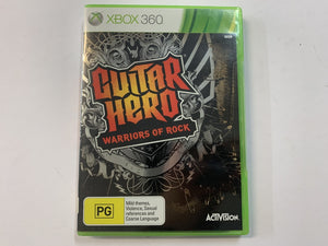 Gutiar Hero Warriors Of Rock Complete In Original Case