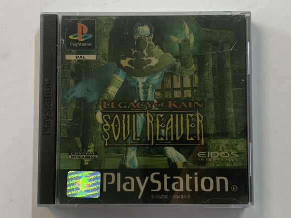 Legacy Of Kain Soul Reaver Complete In Original Case with Holographic Cover