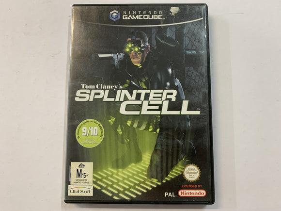 Splinter Cell Complete In Original Case