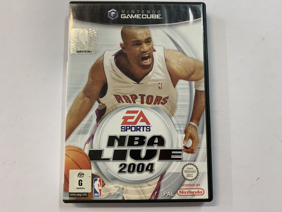 NBA Live 2004 Complete In Original Case