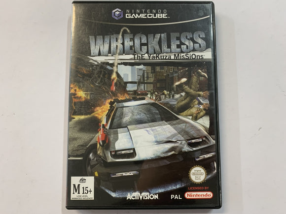Wreckless The Yakuza Mission Complete In Original Case