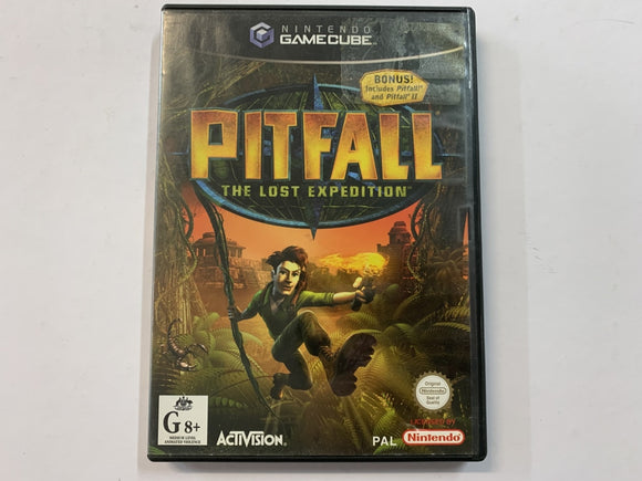 Pitfall The Lost Expedition In Original Case