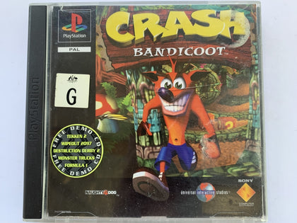 Crash Bandicoot Complete In Original Case