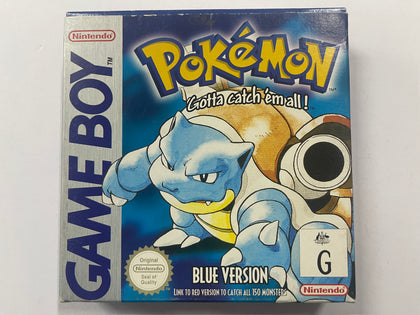 Pokemon Blue Complete In Box