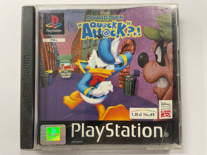 Donald Duck Quack Attack In Original Case