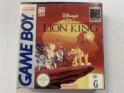 The Lion King Complete In Box