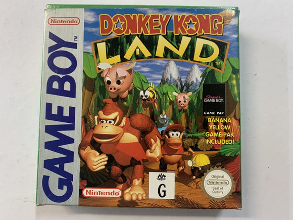 Donkey Kong Land Complete In Box