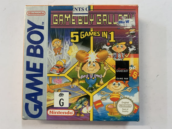 Gameboy Gallery 5in1 Cartridge Complete In Box