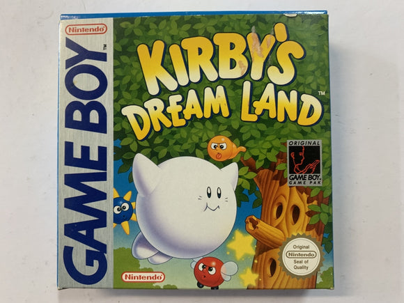 Kirby's Dream Land Complete In Box