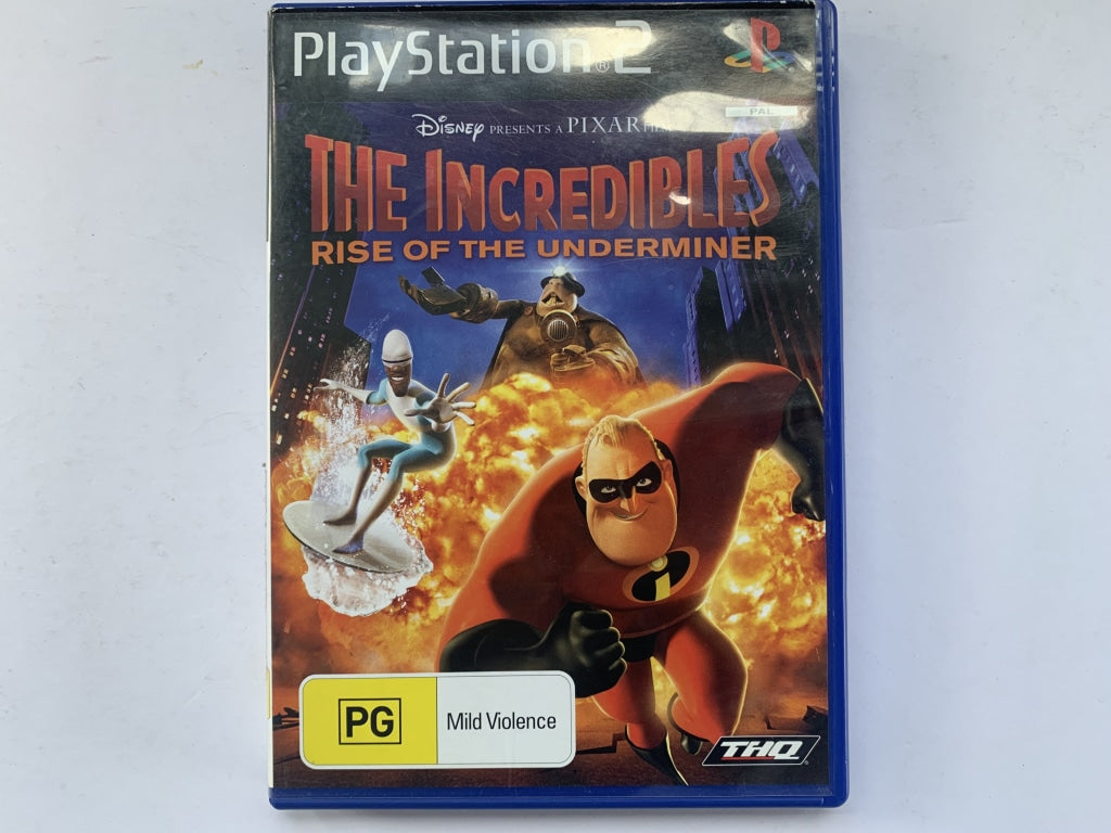The Incredibles Rise Of The Underminer Complete In Original Case