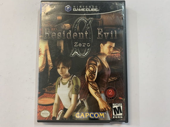 Resident Evil 0 NTSC Complete In Original Case