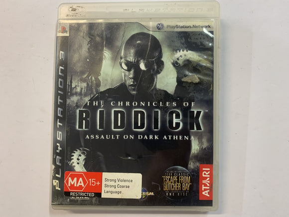 The Chronicles Of Riddick Complete In Original Case