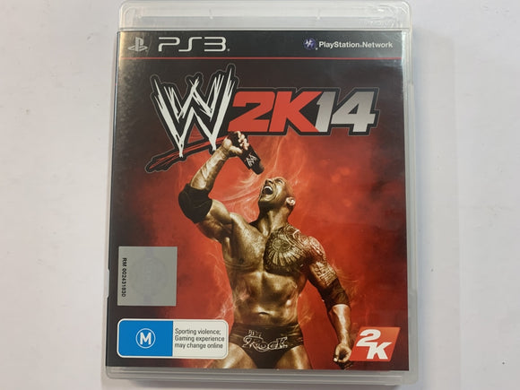 WWE 2K14 Complete In Original Case