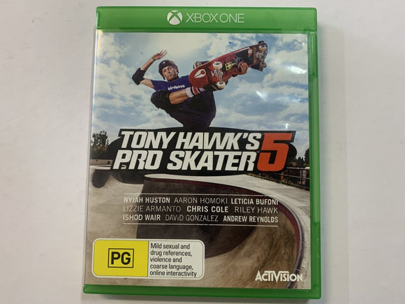 Tony Hawk's Pro Skater 5 Complete In Original Case