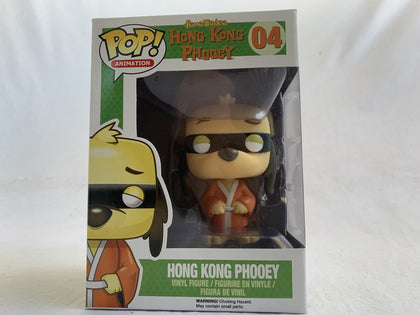 Hanna Barbera Hong Kong Phooey #04 Funko Pop Vinyl Pre Owned Unopened With Free Protector