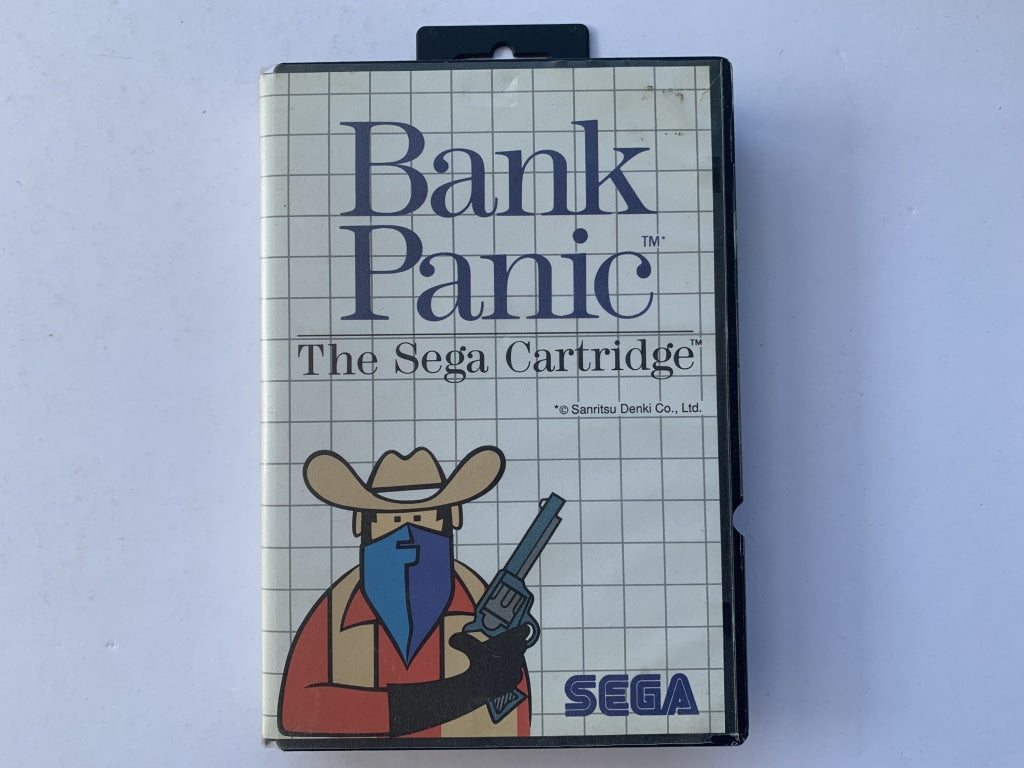 Bank Panic Complete In Original Case