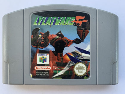 Lylat Wars Cartridge