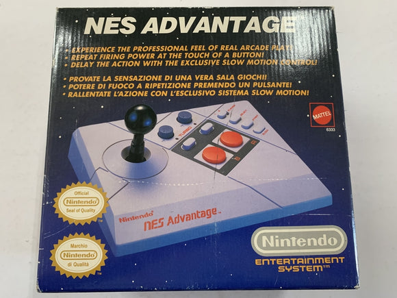 Nintendo NES Advantage Stick Pad Complete In Box