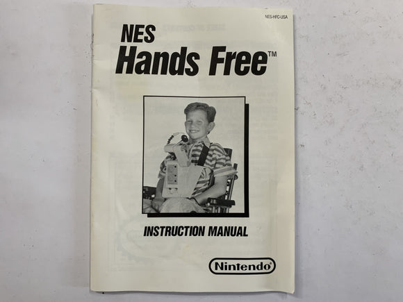 Nintendo NES Hands Free Controller HFC Instruction Booklet