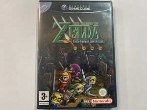 The Legend Of Zelda Four Swords Adventure Complete In Original Case